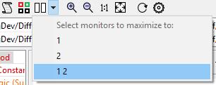 Simulink diff multi-monitor