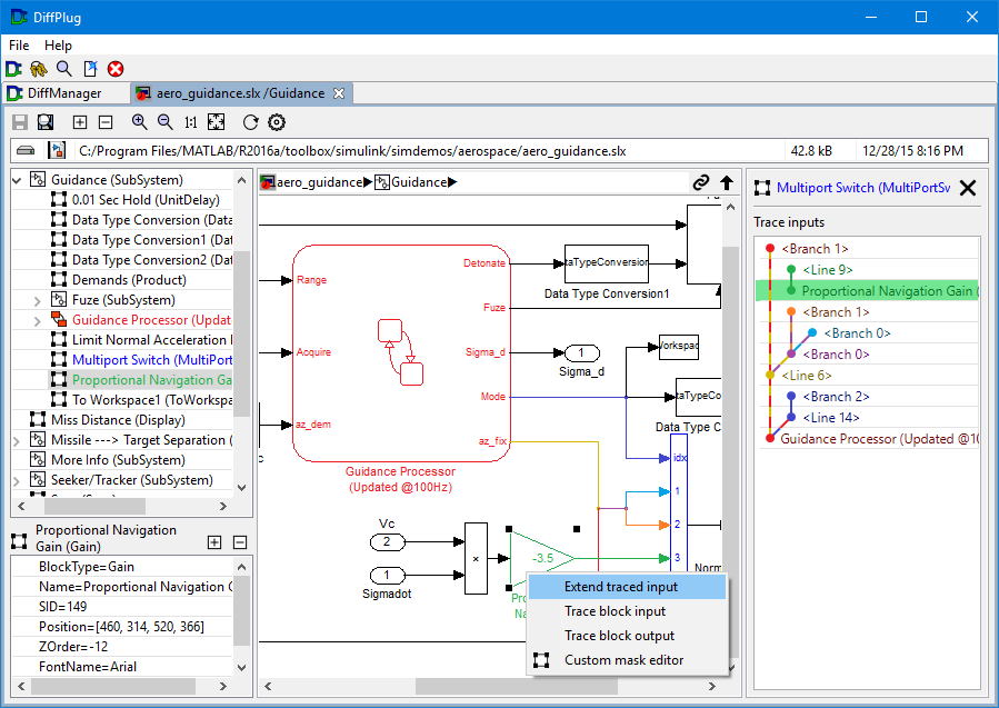 New Simulink tracing