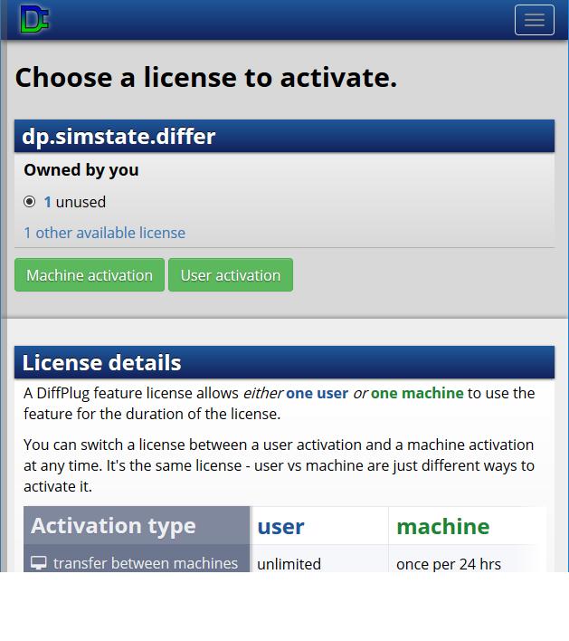 License manager | DiffPlug Docs