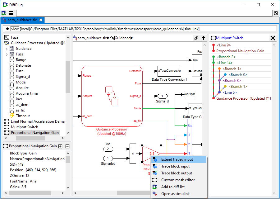 Simulink model about to be extended