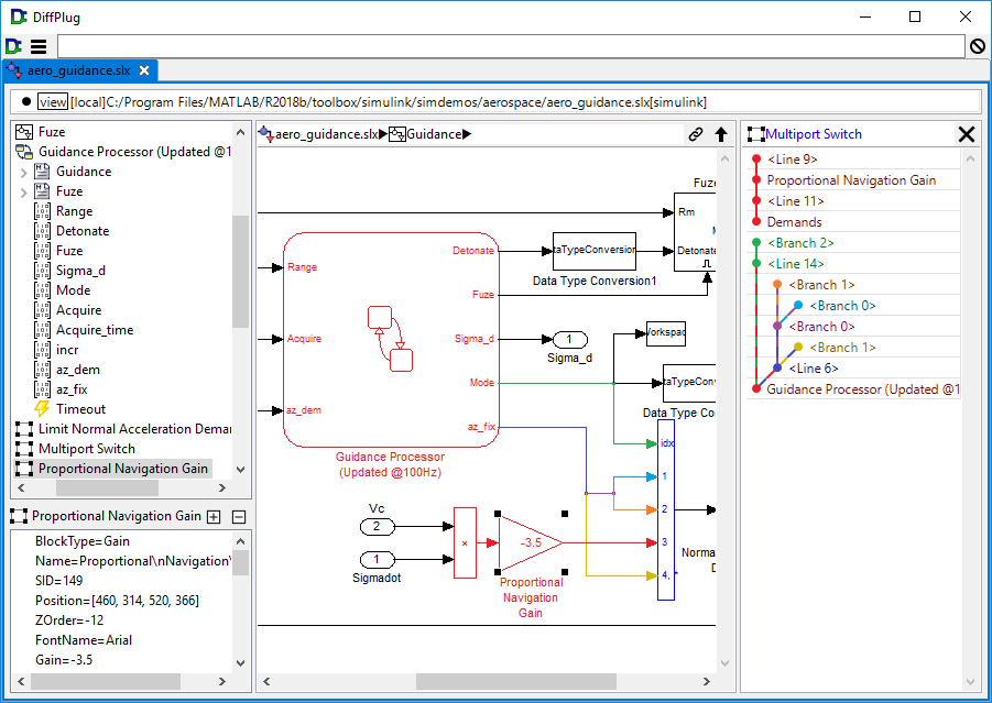 Simulink model extended once